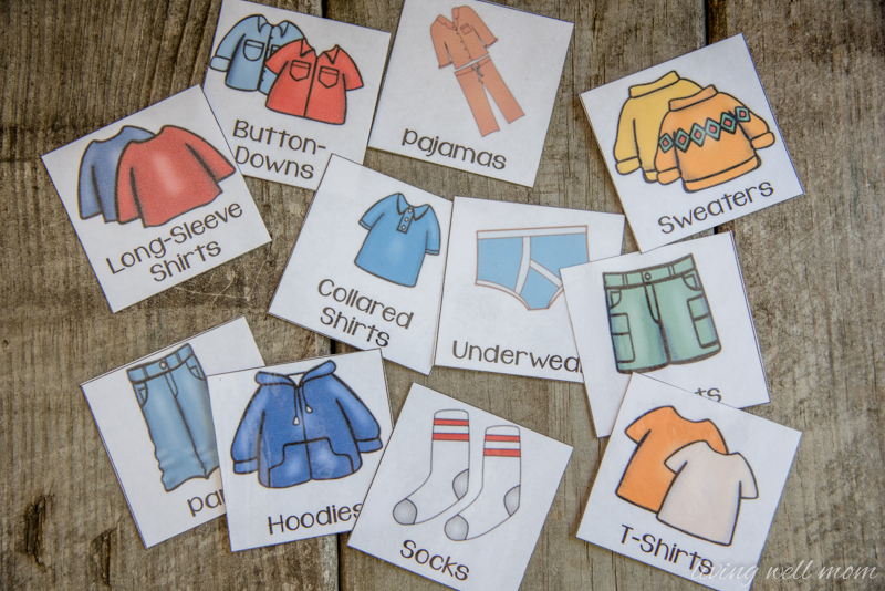 How to Mix and Match your Child's Existing Clothes